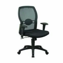 Black Fabric SVK 33 Revolving Chair