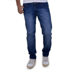 Casual Wear Plain Mens Regular Fit Jeans, Waist Size: 36 And 38