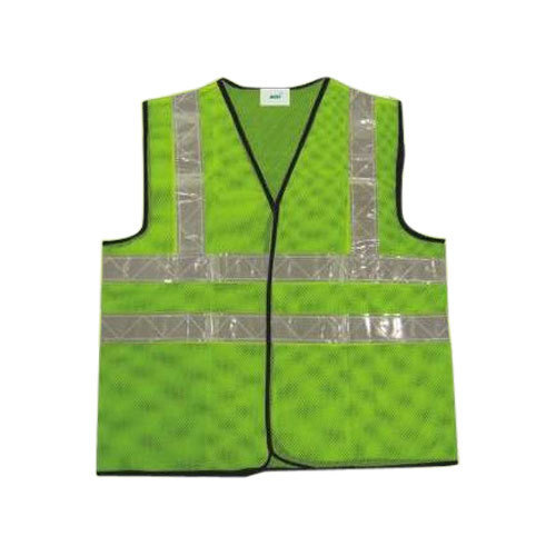 Efficient Reflective Vest Breathable Mesh Multi Pockets Construction Traffic Safety Protective Jacket Fluorescent Clothes Work Clothing Safety Clothing