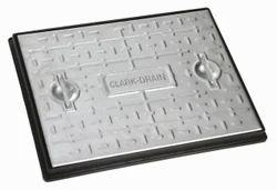 Grey Cast Iron Manhole Cover