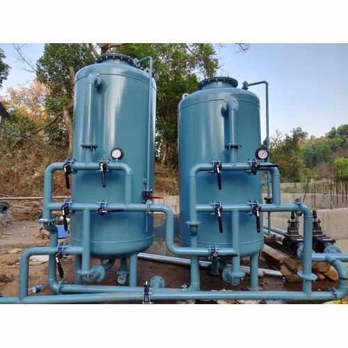 Industrial Activated Carbon Sand Filter Tank, एक्टिवेटेड कार्बन फिल्टर, सक्रिय कार्बन फिल्टर - Shree Swami Samarth Aqua Services, Kolhapur   ID: 21674895212