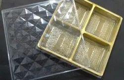 Diamond 25 Four Portion Dry Fruits Box