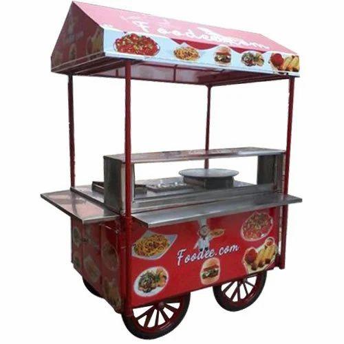 Fast Food Vending Cart
