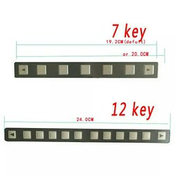 Fanuc Membrane Keypad 7 Key Or 12 Key A98l-0001-0519 Fanuc
