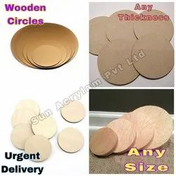 Wooden Circles Craft