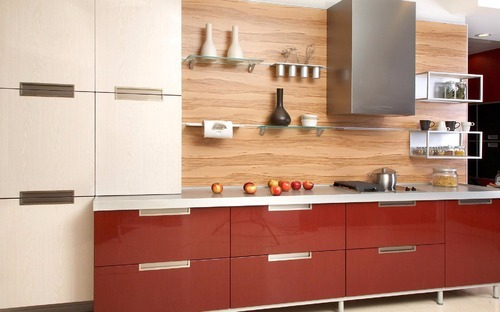 Modular Laminate Kitchen