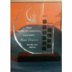 Transparent Acrylic Trophy