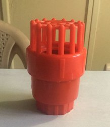 Red Plastic Foot Valves, Packaging Type: Carton Box