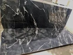 SGM Black Marqino Granite Slab