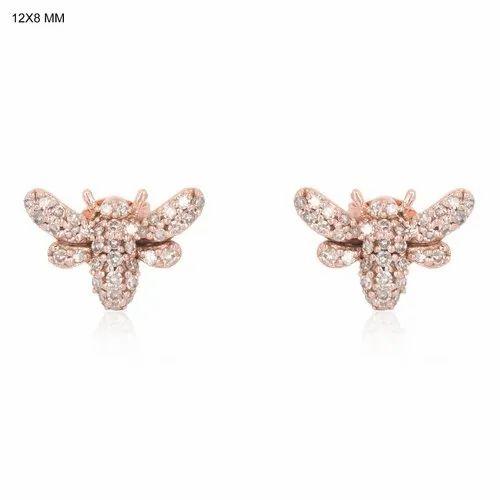 Pave Diamond Studs