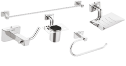 Zolon Stainless Steel,Abs ZO-602-606 Bathroom Accessories