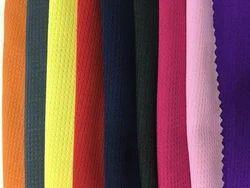 bf346f01d0d Plain Glossy Interlock Polyester Fabric, GSM: 100-150 GSM