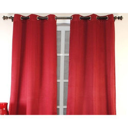 Plain Polyester Curtain, For Window