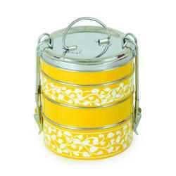 Stainless Steel Printed Lunch Box