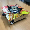 Single Burner Glass top Gas Stove
