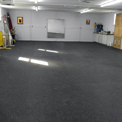 Gym Rubber Flooring Service