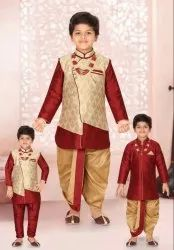 Boys 6 In1 Dhoti Set