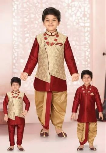9c07b6cb4 Boys 6 In1 Dhoti Set at Rs 1050  piece