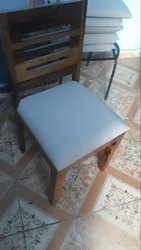 Wood Brown DINING CHAIR, For Hotel
