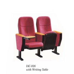 IAC-026 Auditorium Tip Up Chair With Writing Pad