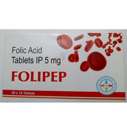Folic Acid Tablets IP 5 mg