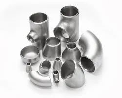 Welded / Seamless / Fabricated Stainless Steel Butt Weld Fittings, for Gas Pipe, Size: 1/2 NB - 36 NB