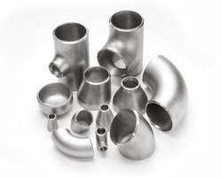 Welded / Seamless / Fabricated Stainless Steel Butt Weld Fittings, for Gas Pipe, Size: 1/2