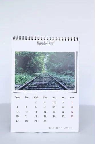 Wall Calendar Digital Printing, Service Duration: 2-3 Days