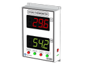 Hygro Thermometer HTI-4000 (4 Inch Display - Wall Mount)