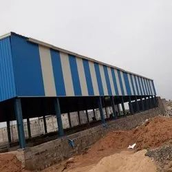 MS Prefabricated Structures Shed
