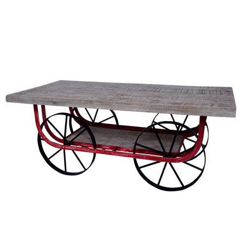Trolley Coffee Table.Cart Trolley Coffee Table