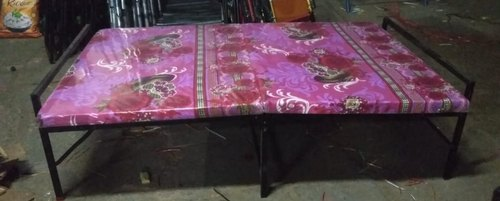 Multicolor Plywood Folding Bed with Mattress, Rs 2200 ...