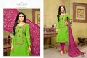 Round Neck Havya Salwar Suit Fabric