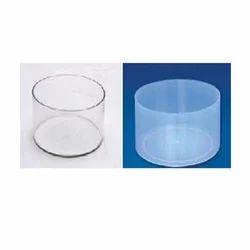 Transparent Plastic Trough Glass