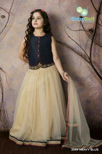 ed091593c1 Kids Designer Wear - Designer Kids Lehanga Manufacturer from Mumbai