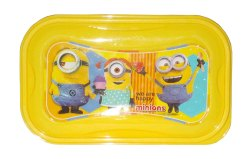Kotak Sales Dazzy cartoon print  Lunchbox 1 Compartment with 2in1 Spoon Fork & Container