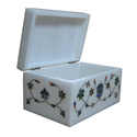 Jewelry Box Floral Design Inlay Work