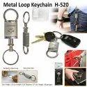 Metal Loop Keychain H-520