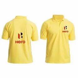 Half Sleeve Casual Wear Mens Polo Neck T-Shirt