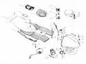 Lambretta Accessories Parts For GP LI TV SX Vijay Super Scooter