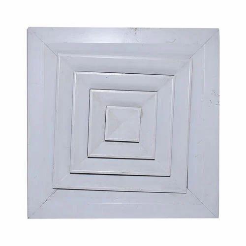 Aluminum Air Diffuser Shape Square Rs 750 Square Feet