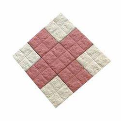 Dual Colour-Paired Paver Block
