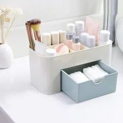 Multicolor Plastic Mini Makeup Storage and Organizer, For Cosmatic Box