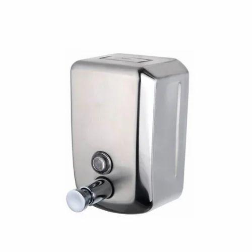 Stainless Steel Manual Soap Dispenser Capacity 800 Ml Manual Guide