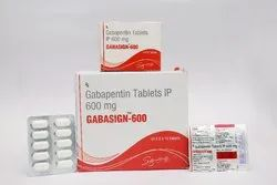 GABASIGN 600 MG TAB