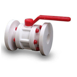 PVDF Flange End Ball Valves