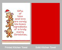 Christmas Dish Towel