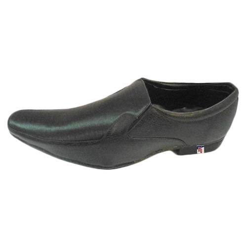 mens black soft leather shoes