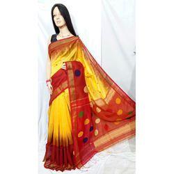 Fancy Cotton Silk Handloom Saree