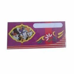 Art Paper Designer Wedding Cash Envelope